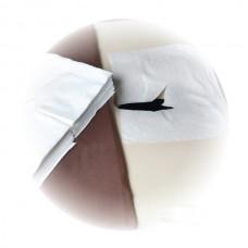 LACOMES Papirni podmetač za zaštitu lica 100kom