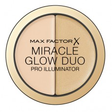 MAX FACTOR MIRACLE GLOW DUO 10 LIGHT 11GR