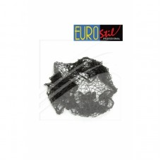 EUROSTIL mrežica za kosu elastična braon 1044/69