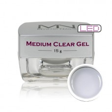 MYSTIC NAILS CLASSIC MEDIUM CLEAR GEL 15g