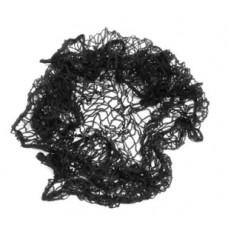EUROSTIL mrežica za kosu elastična CRNA