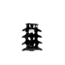 PRO 4U Leptir štipaljke za kosu ABS CRNE 12/1