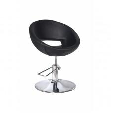 ARCOBALENO radna stolica GETIK - P4(KRUG) CRNA