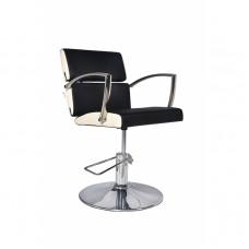 ARCOBALENO radna stolica LENA - P4(KRUG) CRNO/BELA