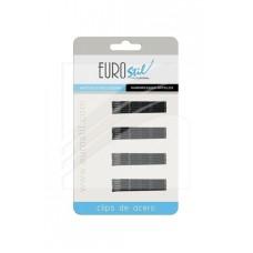 EUROSTIL Ukosnice za kosu male CRNE 24/1 1609/50